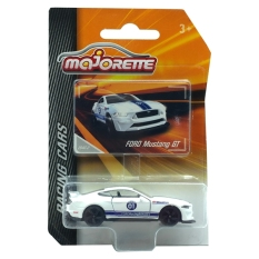 Xe Mô Hình MAJORETTE 204C-2 – FORD Mustang GT – Màu Trắng