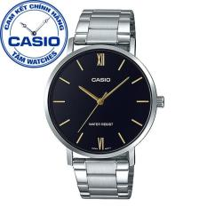Đồng hồ nam dây thép không gỉ Casio Standard Anh Khuê MTP-VT01D-1BUDF