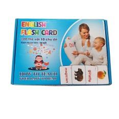 Thẻ Học Flash Card Học Tiếng Anh Cho Bé – Học Liệu Glenn Doman