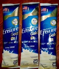 Sữa bột Ensure Gold Hương Vani (10 gói x 60.6g/01 gói )
