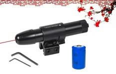 Đèn Laze, bút laser đầu nhọn LZ – 15 Đầy Đủ Kẹp ray 11 hoặc ray 20 – Tia Laser Đỏ ( Giá Rẻ )