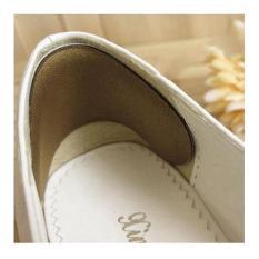 01 cặp lót giày chống trầy gót chân khi mang giày cao gót, giày búp bê – Loại hạt xoài – PK20