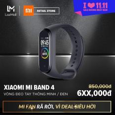 Vòng đeo tay thông minh Xiaomi Mi Band 4 – Màn hình AMOLED – 6 chế độ tập luyện – Hỗ trợ tiếng Việt – Chống nước 50m – Hàng chính hãng