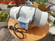 Quạt hút thông gió đường ống tròn Silent Phi 100mm, 150mm