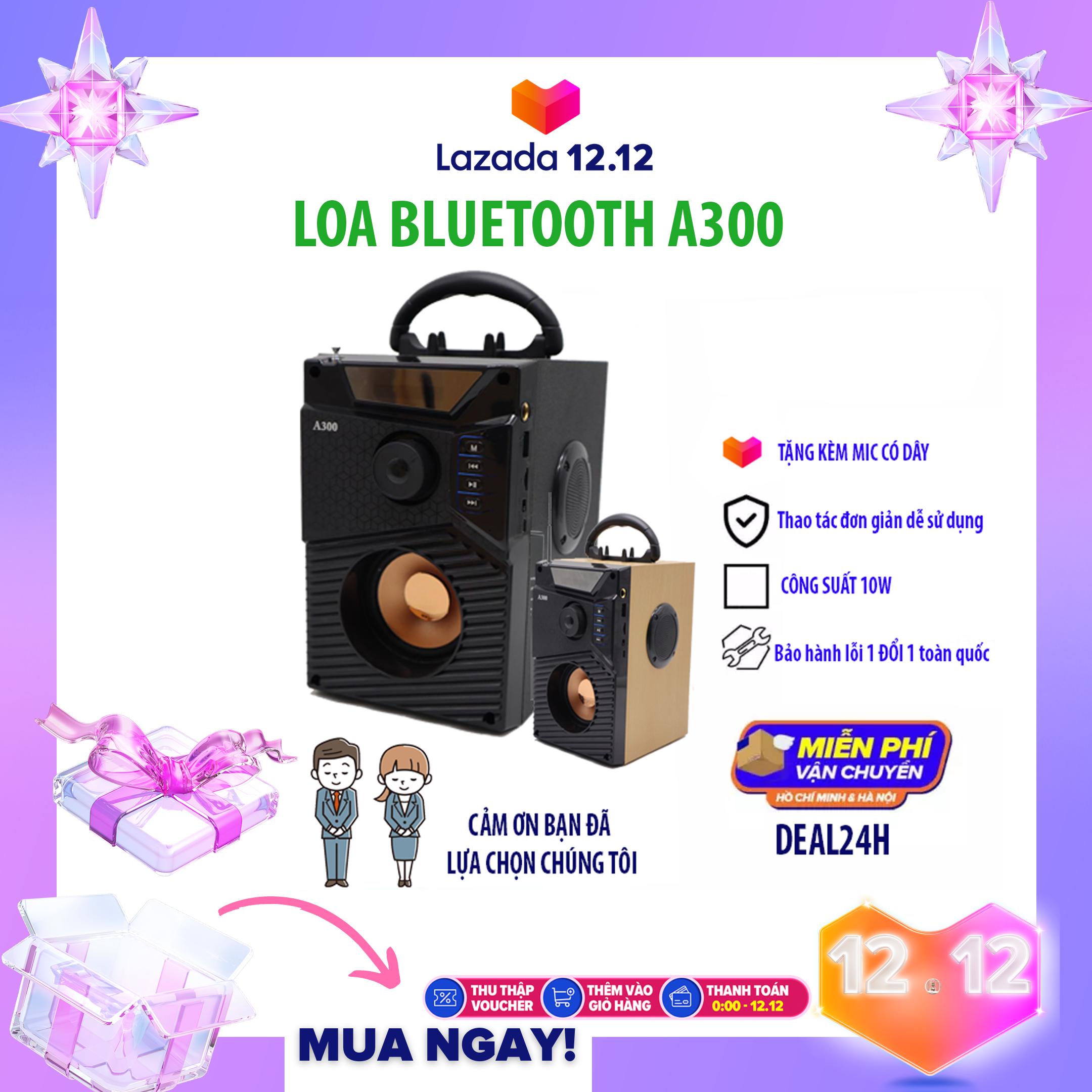 Loa Hát Karaoke TẶNG KÈM MIC – bluetooth speaker loud – Loa siêu BASS sony cũng không hay bằng – Bộ Xử Lý Âm Thanh Hiện Đại, Âm Bass Trầm Ấm, Công Nghệ Bluetooth 4.1 Cao Cấp – Chất Lượng Như Loa Bluetooth Sony