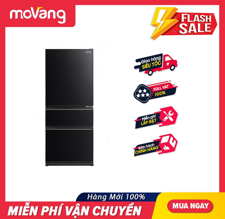 [Nhập mã LZDEL51 giảm 10% tối đa 200K] [TRẢ GÓP 0%] Tủ lạnh Mitsubishi Electric Inveter 358 lít MR-CGX46EN-GBK-V – Tủ lạnh Inverter, Công nghệ khử mùi bằng bộ lọc Carbon hoạt tính