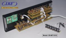 Bộ mặt trước amply gồm Mạch Echo Reverb DSP chống hú – Mạch Micro – Mạch Music – Mạch Master