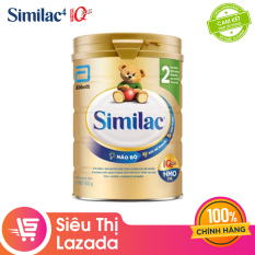 [Siêu thị Lazada] [FREESHIP 15K TOÀN QUỐC] Sữa bột Similac Eye-Q 2 HMO 900g Gold Labelcung cấp nguồn dinh dưỡng đầy đủ cho bé phát triển toàn diện