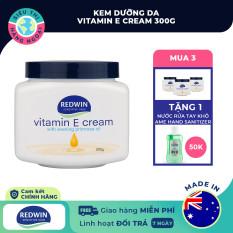 Kem dưỡng da vitamin E Redwin cream300g [Giúp da sáng bóng, căng mịn tự nhiên]-Tặng kèm nước rửa tay USA 90ml 50K khi mua 3 sản phẩm (được bán bởi Siêu Thị Hàng Ngoại)