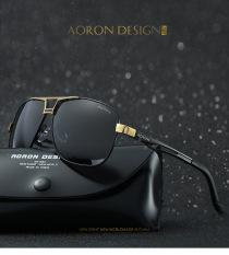 Kính râm, kính mát nam AORON, mắt kính phân cực polarized chống chói, chống tia UV400 A8521- fullbox