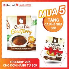 [MUA 5 TẶNG CÀ PHÊ SỮA] Cacao dừa CocoTerry , thơm ngon , đậm đà đặc biệt không pha trộn hương liệu Gói 50g