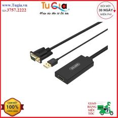 Cáp chuyển VGA + USB sang HDMI Unitek Y-8711 – Hàng chính hãng