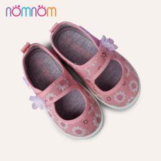 Giày búp bê cho bé gái quai dán NomNom EPG1914 Hồng