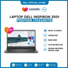 Laptop Dell Inspiron 3501 15.6 inches FHD (Intel / i5-1135G7 / 8GB / 512GB SSD / NVIDIA Geforce MX330, 2GB / McAfee MDS / Win 10 Home SL) l Black l P90F006 (70234074) l HÀNG CHÍNH HÃNG