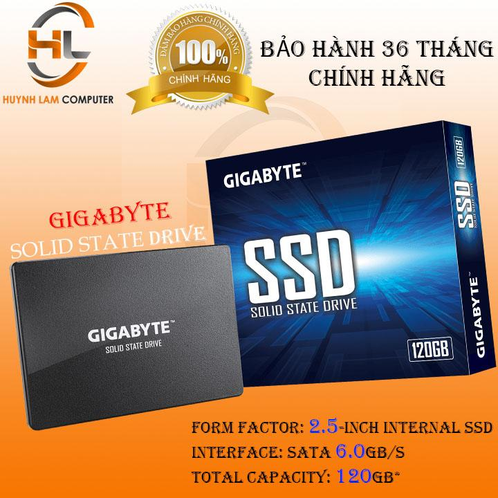 SSD 120GB Gigabyte sata3 chuẩn 2.5