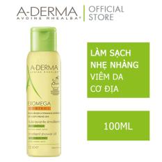 A-DERMA Dầu tắm chuyên biệt cho da khô, rất khô, viêm da cơ địa EXOMEGA CONTROL SHOWER OIL 100ML