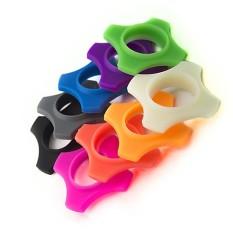 Bộ 4 miếng tròn cao su chống lăn cho micro ( dành cho 4 micro )