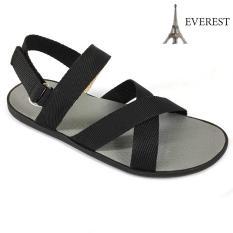 Giày sandal nam 3 quai ngang chéo thời trang Everest EV14 (Đen)A247 Xanh A248