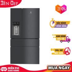[TRẢ GÓP 0%] Tủ lạnh Electrolux EHE6879A-B 617 lít NutriFresh Inverter