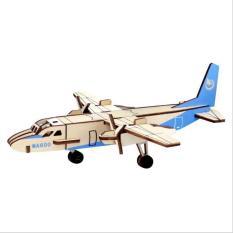 Đồ chơi lắp ráp gỗ 3D Máy bay Xin Zhou LC-P465