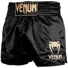 Quần Muay Thai Venum Classic – Black/Gold