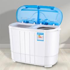 [ HÀNG LOẠI I ] Máy giặt 2 lồng giặt – Máy giặt mini – Lồng giặt mini quần áo cho bé – Máy giặt cao cấp TE0005