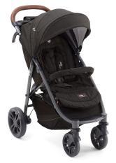Xe đẩy trẻ em Joie Litetrax 4 Flex W/ RC SIG. Noir hệ thống giảm xóc 3D dành cho bé từ sơ sinh đến 15 kg.