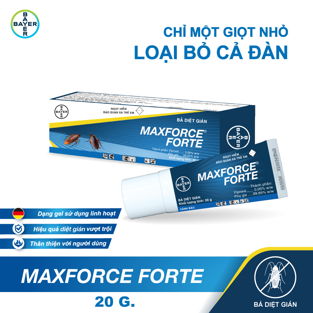 Bayer diệt gián dạng bả Maxforce Forte