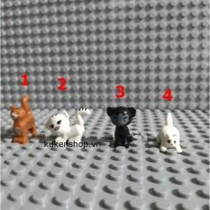 Minifigure Động Vật Các Chú Mèo Xinh Xắn NO.1235 – Phụ Kiện MOC