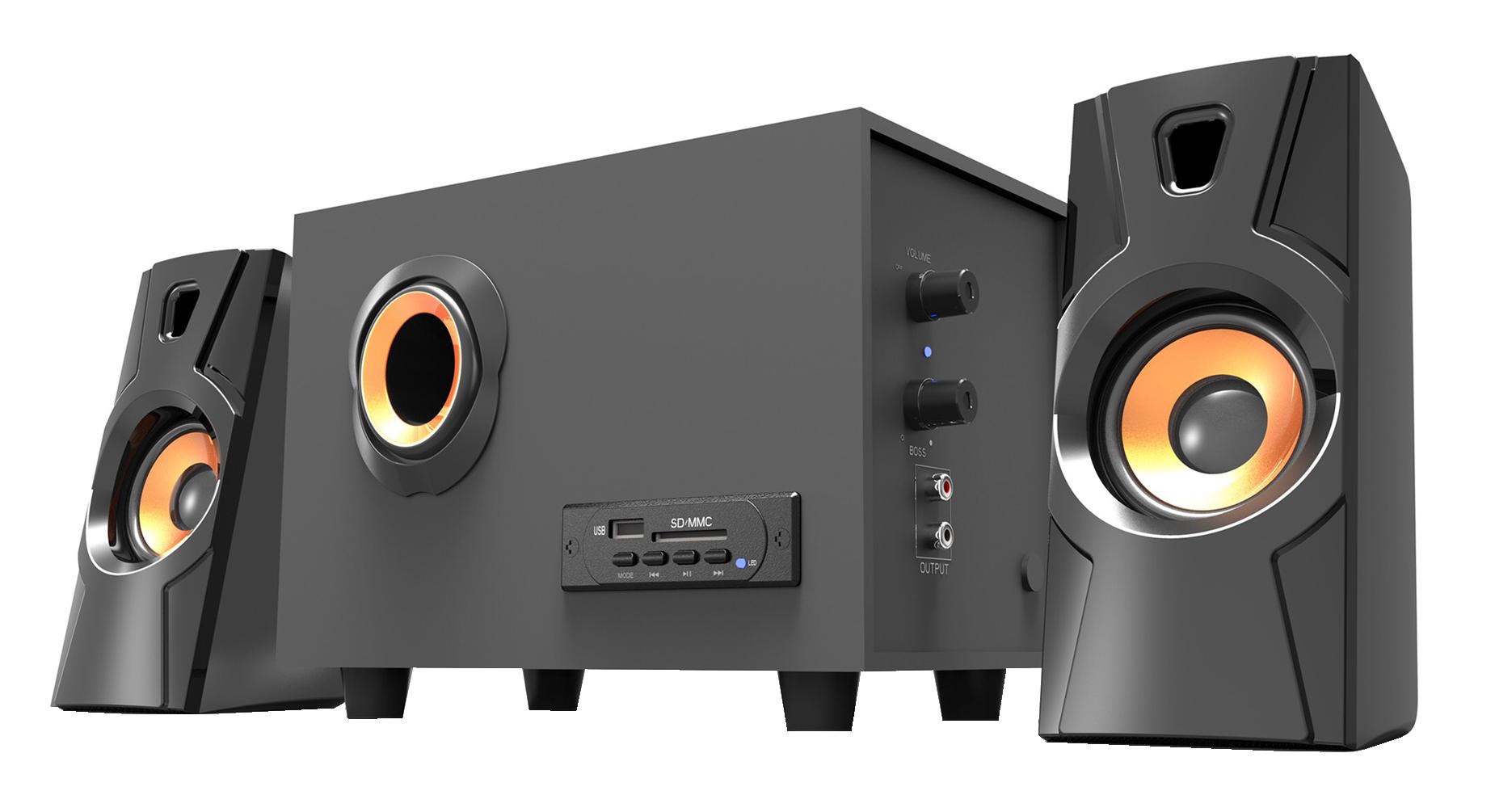 Loa Bluetooth Bosston T3500-BT 2.1- Led RGB