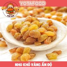 Nho vàng khô Ấn Độ loại ngon ( không đường , ăn kiêng giảm cân được ) | Yotafood – 1Kg