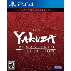 Đĩa game Yakuza Remastered Collection Day One Edition PS4