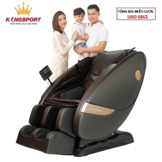 [HOT 2021] Ghế massage Kingsport G66 – ghế massage toàn thân cao cấp, tự động mát xa đa năng, nhiệt lưng lưu thông khí huyết