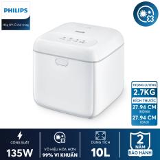 [VOUCHER 375K] [Trả góp 0%] Hộp khử trùng Philips UV-C disinfection box 10L TC VN