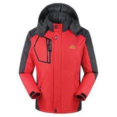 Áo khoác nam chống NƯỚC [OUTDOORJACKETS], lót lông, vải đặc biệt hỗ trợ đi TUYẾT, đi MƯA – HÀNG HIỆU [A001B], áo khoác nam, áo đông nam, áo rét nam, áo chống nước