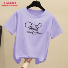 Áo Thun Nữ In Hình Family Dễ Thương Tiano Shop TIA-431