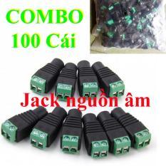 100 jack DC nguồn 12v Âm VẶN VÍT – jack DC Âm VẶN VÍT – jack 12v cái – jack nguồn camera âm
