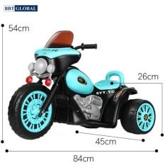 Xe máy điện trẻ em cảnh sát BBT-100 xe máy điện trẻ em, xa dien xe đạp ga , xe may dien
