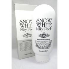 Hàng chính hãng Kem tắm trắng toàn thân Secret Key Snow White Milky Pack 200g