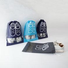 Túi Đựng Giày Hoạ Tiết Chống Bẩn Đi Du Lịch Tiện Lợi P047
