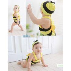 Bộ bơi ong vàng kèm mũ cực xinh cho bé