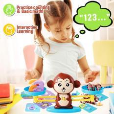 Cân toán học,đồ chơi học toán, bộ đồ chơi con khỉ học toán cân bằng thông minh – Bộ đồ chơi toán học Monkey Balence-Đồ chơi thông minh