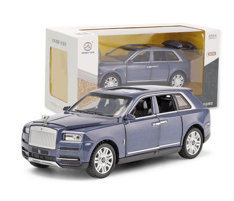 [Nhập ELJAN11 giảm 10%, tối đa 200k, đơn từ 99k]Xe mô hình tỉ lệ 1:32 Rolls Royce Cullinan thân xe...