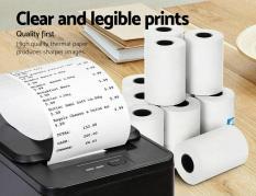 Bộ 10 cuộn giấy in nhiệt Oji khổ K57 (57mmx45mm) dành cho máy in bill khổ nhỏ mới nhựa