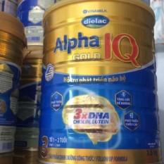 Sữa bột Dielac Alpha Gold IQ 3 1.5kg HSD 2022