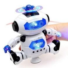 Đồ Chơi Robot 08 Biết Nhảy Và Hát Xoay 360 Độ Theo Nhạc