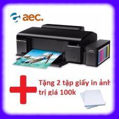 Máy in phun màu Epson L805 ( máy không kèm mực) + Khuyến mại 2 tập giấy in ảnh trị giá 100k
