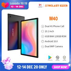 【2020 New】 Máy tính bảng Teclast M40 Mới nhất Máy tính bảng Android 10.0 Máy tính bảng 6GB RAM 128GB ROM 10.1 inch 8MP Camera kép 4G Gọi điện thoại Bluetooth 5.0 UNISOC T618 Octa Core