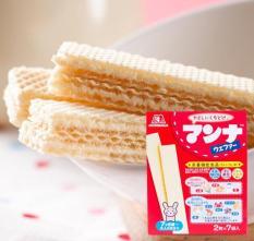 Bánh ăn dặm Morinaga nhập Nhật Bản
