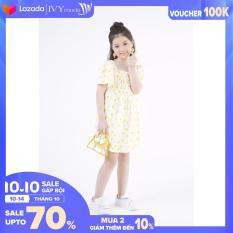 Đầm bé gái chấm bi IVY moda MS 48G0602